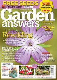 Garden Answers magazine cover