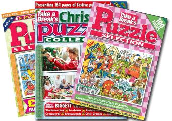 mixed puzzle magazines