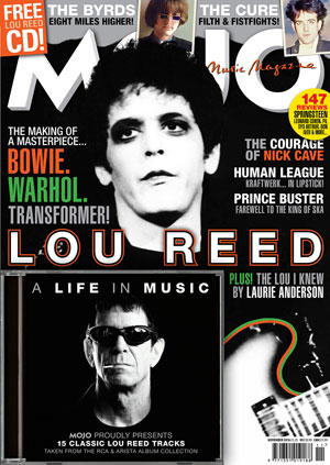 Mojo: November 2016 -  Lou Reed