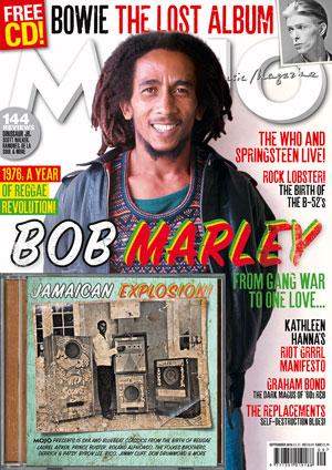 MOJO: Sept 2016 - Bob Marley